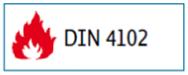 Brandwerend DIN 4102